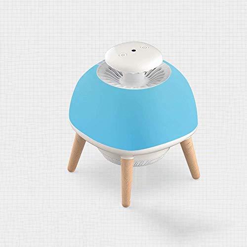 ZHAS Lampe Anti-Moustique Maison intérieure Anti-Moustique Chambre bébé muet Anti-Moustique artefact Tueur Physique Anti-piégeage Moustique plug-in16 * 16 * 19.5 cm