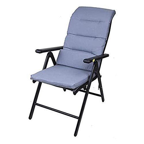 DYB Garden Chair Folding Sunlounger Folding Chairs Reclining Garden Chair Beach Bed Reclining Chairs Black Weatherproof Fabric Chairs Folding Stool Recliner (Size : #6)