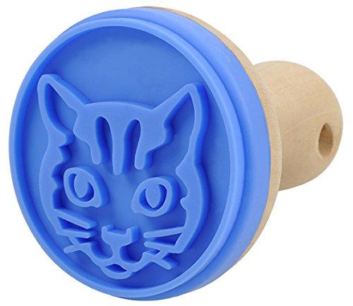 Blue bug keksstempel en silicone en forme de chat
