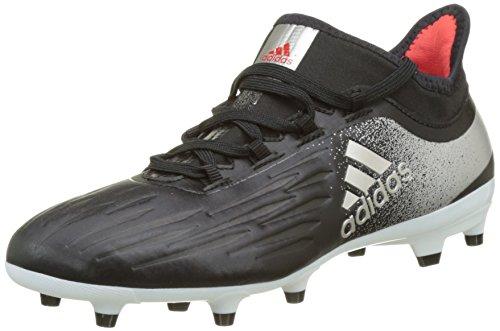 adidas Damen X 17.2 FG Fußballschuhe, Schwarz (Core Black/Platin Metallic/core Red), 37 1/3 EU