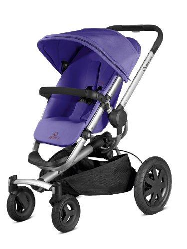 Quinny Buzz Xtra 4 - Silla de paseo deportiva, color marrón rojo morado (purple pace)