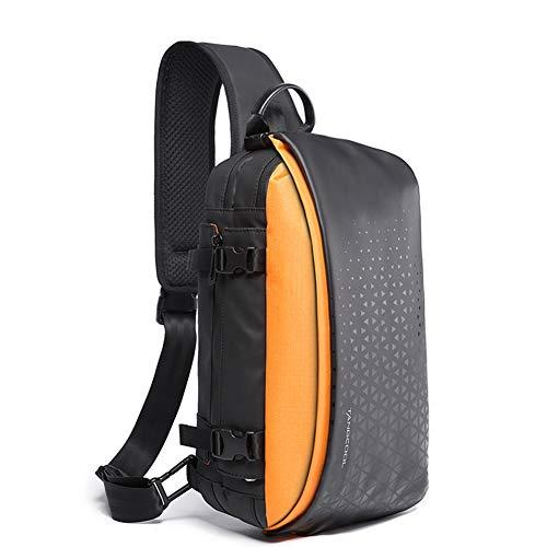 QDWRF Sac porté épaule Sac à Dos Ordinateur Portable Sac à Dos d'affaires Sac à Dos Fonctionnel Sac a Dos PC Portable pour Loisirs/Affaire/Scolaire Peut Orange
