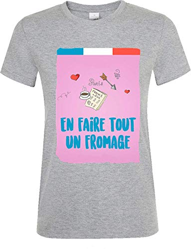 Sartamke en Faire Tout Un kaas T-shirt dames ronde hals