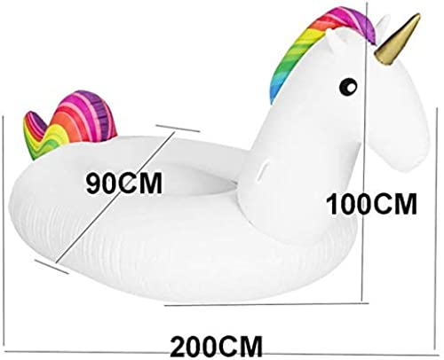 80% de descuento XTYZY 1.5M Inflables Flamingo Flotador Unicornio Anillo de natación Inflable Inflable Inflable Adultos Cama de Agua Fiesta en la Piscina Flamingo Inflable Círculo de natación  promociones de equipo