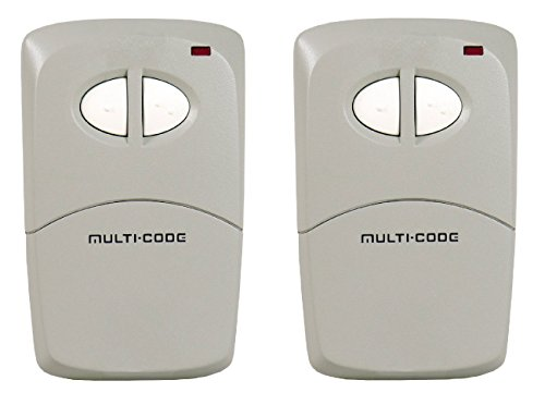 Find Discount Lot of 2 Linear Multi-Code Visor Transmitter, 2-Channel (412001)