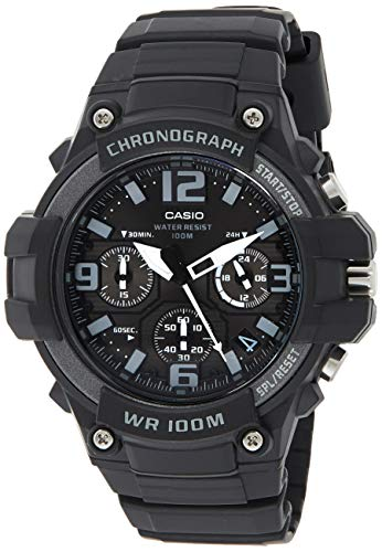Casio Youth-Analog Analog Black Dial Men's Watch - MCW-100H-1A3VDF (AD213)