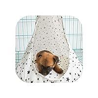 厚み付けソフトペットの猫ハウス快適ケージ、Dノーリム、Sを暖める円錐眠れるベッドバスケットハンモックベッドをスリーピングペットの猫犬のベッドネストディープ