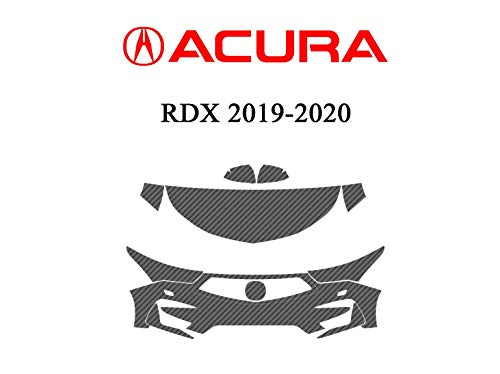 The Online Liquidator Car Front Paint Protection Film fits Acura RDX 2020-2019 - Clear Bra Professional Vehicle Protective Shield Wrap