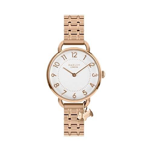 [ラドリー] 腕時計 女子ローズゴールドステンレススチールチャームブレスレットウォッチ RY4344 [並行輸入品]