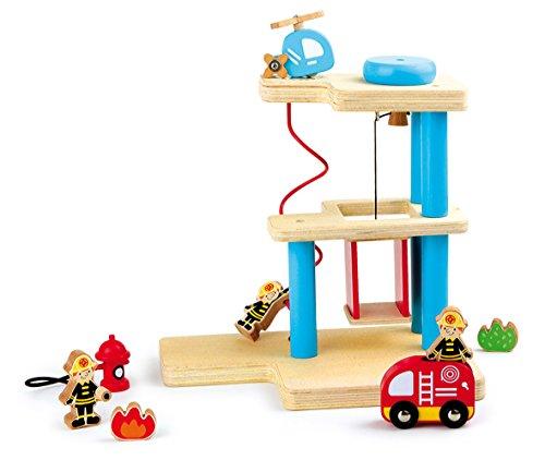 Small Foot Company (smb5v) - 8562 - Figurine Pompier - Caserne De Pompiers