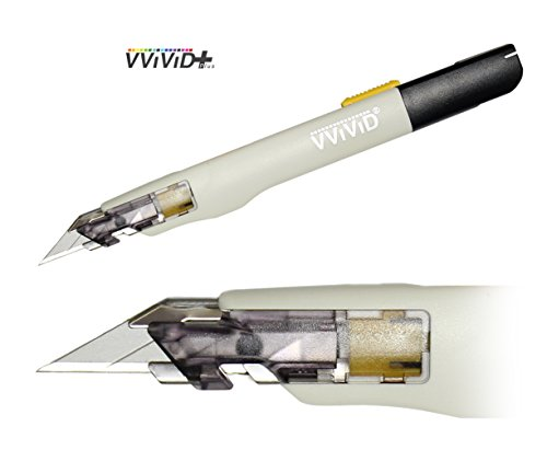 VViViD+ Premium Retractable Precision Balanced Multi-Use Utility Blade (1 Piece)
