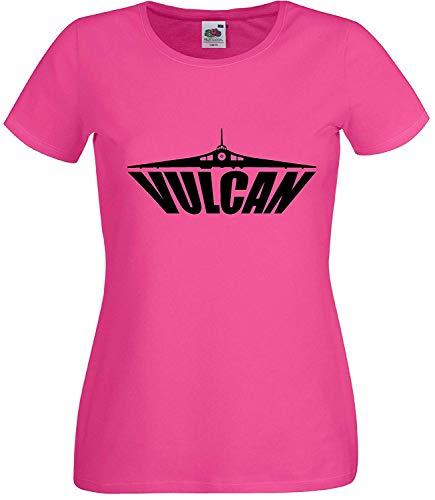 RISKYT Avro Vulcan Delta vleugels bomber jetvliegtuig vliegtuig dames T-shirt