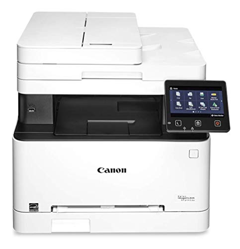 Canon Color imageCLASS MF644Cdw - All in One, Wireless, Mobile Ready, Duplex Laser Printer, White,...