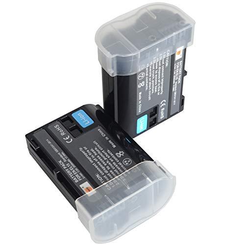 DSTE–Batería de 2Pack batería de Repuesto for Nikon EN-EL151V1D600D610D750D800D800E D810A D7000D7100D7200Cámara