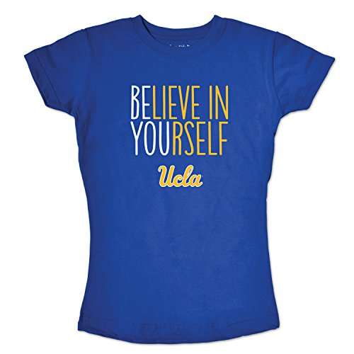 College Kids Girls Short Sleeve Tee Youth, Royal, Size (8-10)/Small