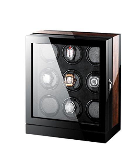 Watch Winder,Cajas giratorias para Relojes Watch Winder Shakers Swing Boxes Relojes mecánicos Relojes automáticos Cajas Watch Winders Osciloscopios Tablas de Almacenamiento (Color : 9)