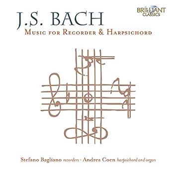 J.S. Bach: Music for Recorder & Harpsichord