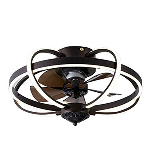 Lámpara de techo de 72 W, ventilador de techo, iluminación LED, ventilador de techo, iluminación con mando a distancia regulable