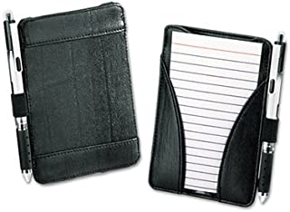 Oxford : At-Hand Note Card Case Holds and Includes 25 3 x 5 Ruled Cards, Black -:- Sold as 2 Packs of - 1 - / - Total of 2 Each