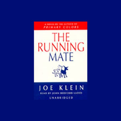 The Running Mate audiobook cover art