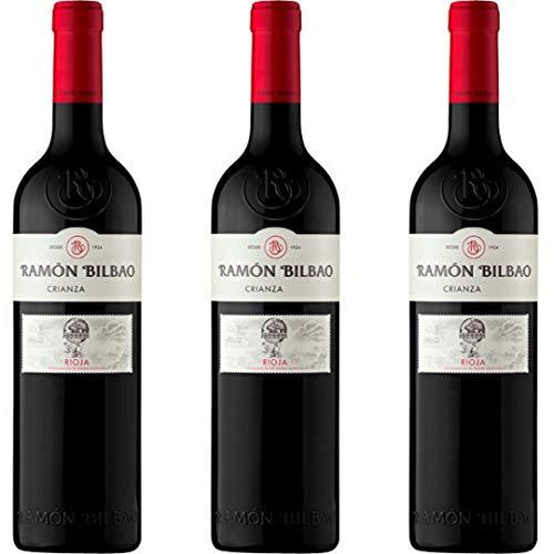 Crianza Vino Tinto - 3 botellas x 750ml - total: 2250 ml