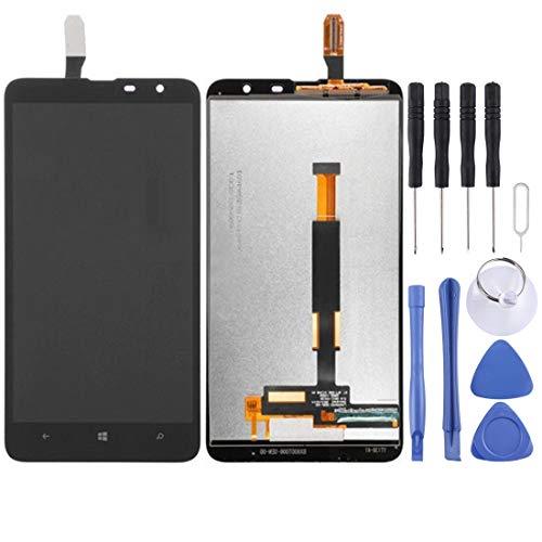 Nuovo schermo LCD e Digitizer Assemblea completa for Nokia Lumia 1320 (nero) Slimxiao (Color : Black)