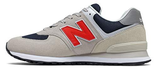 New Balance ML574SJ2_42,5, Sneakers Uomo, Grigio, 42.5 EU