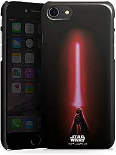 Premium Case compatibel met Apple iPhone SE (2020) Telefoonhoesje Smartphonehoesje glanzend Fanartikel Laserzwaard Star Wars