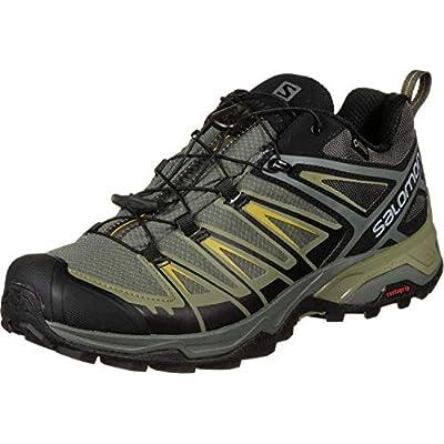 Salomon X Ultra 3 GTX, Zapatillas de Senderismo para Hombre, Gris Turquesa, 42 2/3 EU