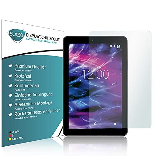 Slabo 2 x Bildschirmschutzfolie für Medion Lifetab E10501 (MD60240 / MD60331) Bildschirmschutz Schutzfolie Folie Crystal Clear KLAR