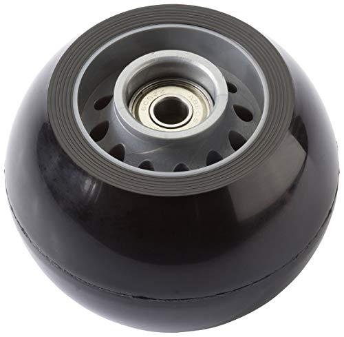 Firefly & K2 Kickboard Ersatz-Rolle Hinterrad 84x60mm inkl. Abec 5 (Farbe: schwarz)