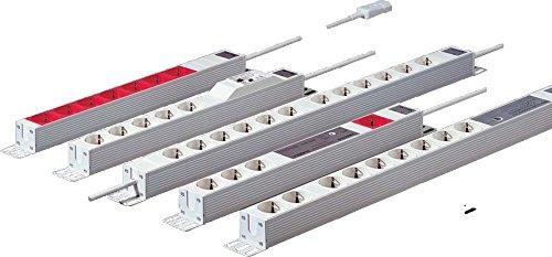 Rittal DK 7240.200 Binnen 12sortie (S) ca. 2 m stekkerdoos – Stekkerdoos (16 A, 482,6 mm, 44 mm, 2 m, 860 g)
