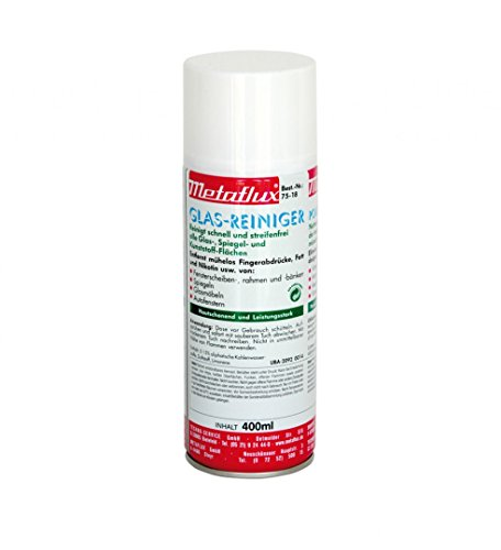 METAFLUX 75-18 Glasreiniger-Spray (EUR 24,75 / L)