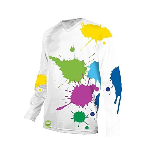 Uglyfrog Hip Hop Element Design Kurzarm/Langarm Radtrikot Fahrradtrikot Herren T-Shirt Jersey Radsport Funktionsshirt Elastische Atmungsaktive Schnell Trocknen Stoff MTB Downhill Jersey