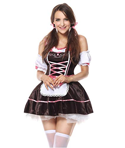ACHICOO Vrouwen Meisje Oktoberfest Jurk Halloween Bier Festival Mode Maid Uniform Creatieve Levensstijl