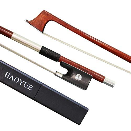 HAOYUE Violin Bow - Violin Bow Full Size - Pernambuco Violin Bow (4/4)