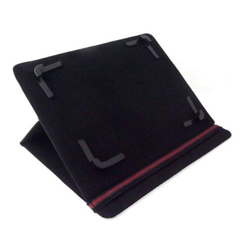 Bookstyle Tablet PC Tasche Etui Hülle Book Hülle schwarz mit Standfunktion passend für Blaupunkt Endeavour 1010 HD