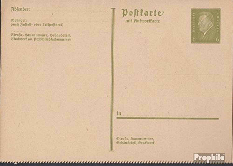 entrega de rayos Prophila Collection alemán Imperio P200II P200II P200II Oficial Tarjeta Postal 1932 Ebert (Documentos enteropostales para los coleccionistas)  en linea