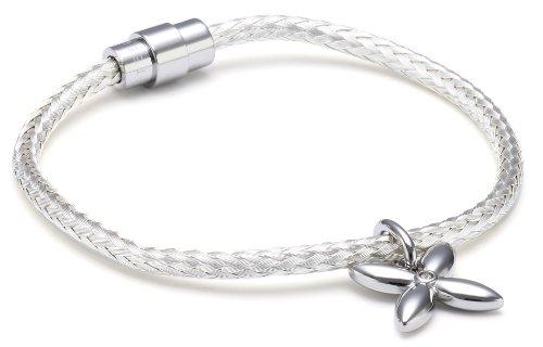 Esprit Jewels Damen-Armband thriving flora silber Edelstahl ESBR11450A175