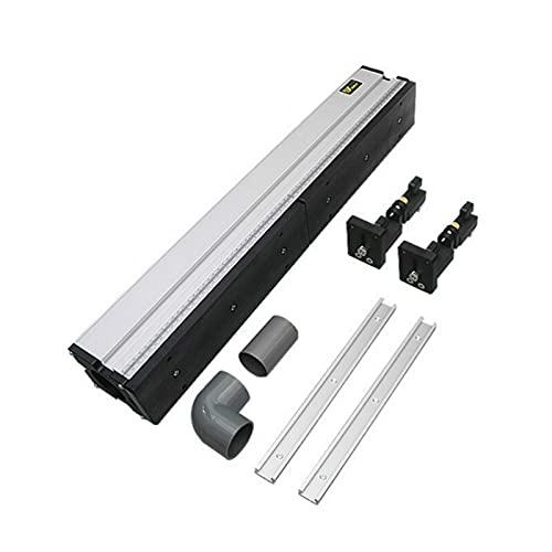 E E-NICES Tools 1 Set Holzbearbeitung Aluminium-Profilzaun mit Gleitklammern Werkzeuge für Holzarbeit Routedable Säge Tabelle DIY Werkbänke (Color : Set A)