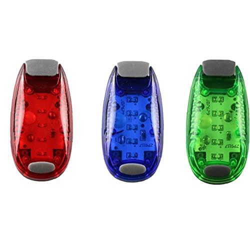 EElabper Iluminación de señal de Barco Kayak Seguridad Pasero Luz LED Luces de navegación Intermitente con 3 Modos Intermitentes 3pcs