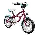 Rad BIKESTAR Kinderfahrrad für Mädchen ab 3-4 Jahre | 12 Zoll Kinderrad Cruiser | Fahrrad für Kinder Violett | Risikofrei Testen für Kinder bei Amazon