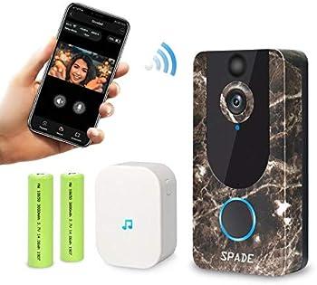 Spad Smart Video Doorbell Wireless 1080p Cloud Storage Security Camera