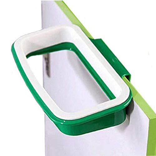 Winnes Juego de 2 soportes para bolsas de basura portátiles para colgar en armarios de cocina, puertas, estilo retrovisor, bolsas de basura