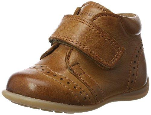 Bisgaard Unisex-Kinder Krabbelschuhe Pantoffeln, Braun (66 Cognac), 19 EU