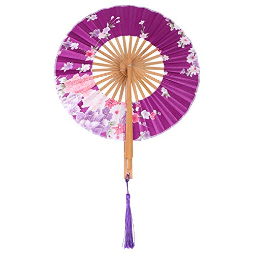 CLISPEED 1Pc Yamato Style Fan Japanese Fan Japanese Style Folding Fan Yamato Fan
