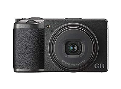 Ricoh GR III Digital Compact Camera, 24mp, 28mm f 2.8 lens with Touch Screen LCD by RICOH
