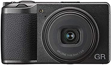 Ricoh GR III Digital Compact Camera, 24mp, 28mm F 2.8 Lens with Touch Screen LCD