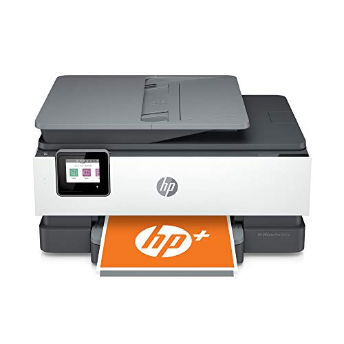 HP OfficeJet Pro 8035e All-in-One Wireless Color Printer (Basalt) for home office, with 12 months Instant Ink with HP+ (1L0H6A)