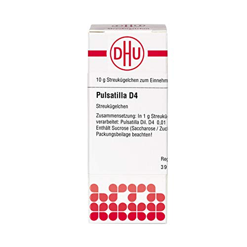 DHU Pulsatilla D4 Streukügelchen, 10 g Globuli